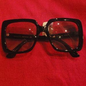 Black Gucci Glasses